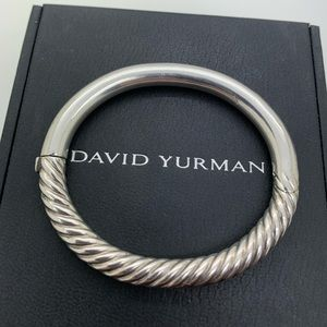 David Yurman 925 7Mm Bangle Medium Size
